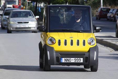 Στην κυκλοφορία το πρώτο Ελληνικό ηλεκτρικό αυτοκίνητο !